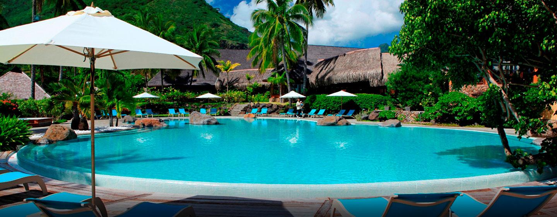 Hôtel Hilton Moorea Lagoon Resort & Spa, Polynésie française - Piscine extérieure