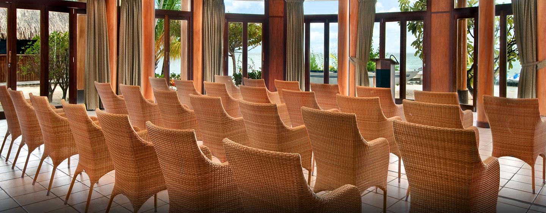 Hôtel Hilton Moorea Lagoon Resort & Spa, Polynésie française - Salle de réception/banquet