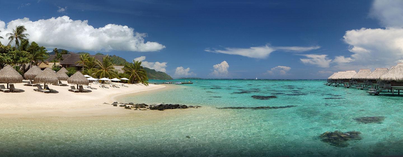 Hôtel Hilton Moorea Lagoon Resort & Spa, Polynésie française - Magnifique plage