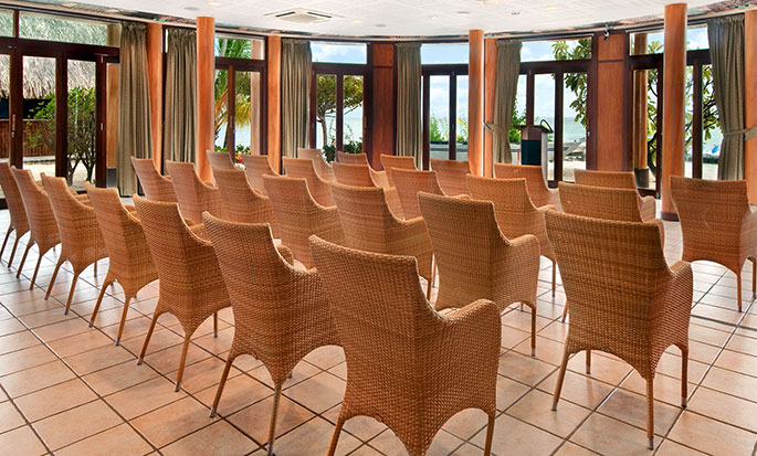 Hotel Hilton Moorea Lagoon Resort and Spa - Sala de banquete
