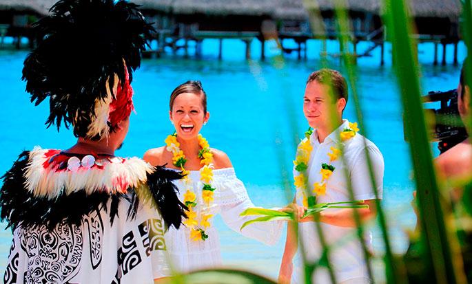 Hotel Hilton Moorea Lagoon Resort and Spa - Casamento