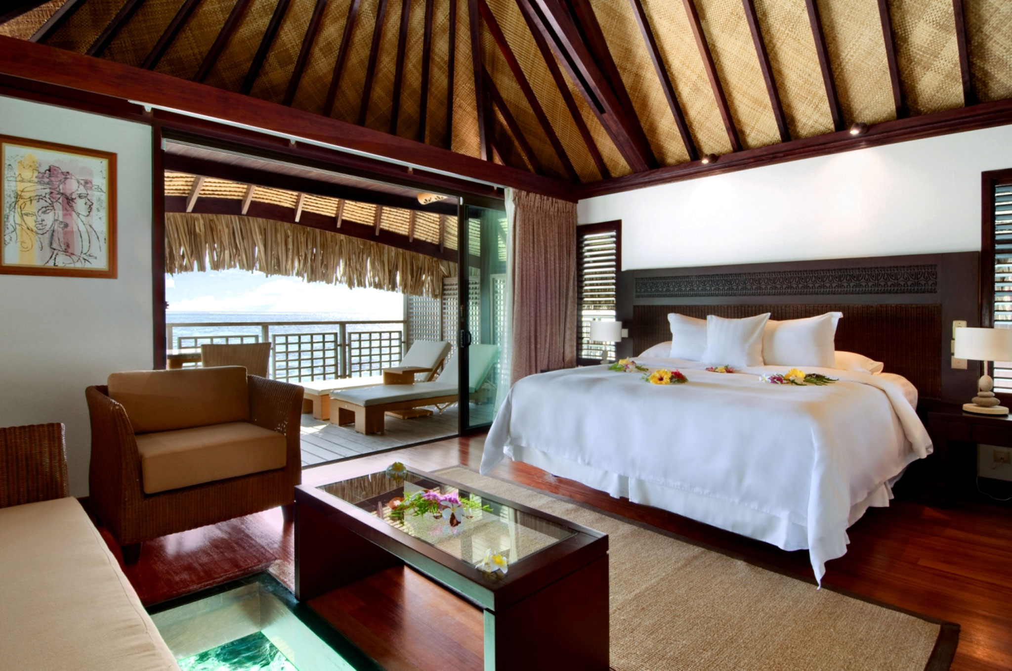 h tels papetoai hilton moorea lagoon resort spa. Black Bedroom Furniture Sets. Home Design Ideas
