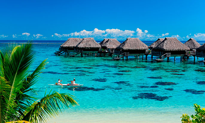 Hotel Hilton Moorea Lagoon Resort and Spa - Vista exterior