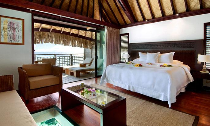 Hotel Hilton Moorea Lagoon Resort and Spa - Bangalôs panorâmicos sobre a água