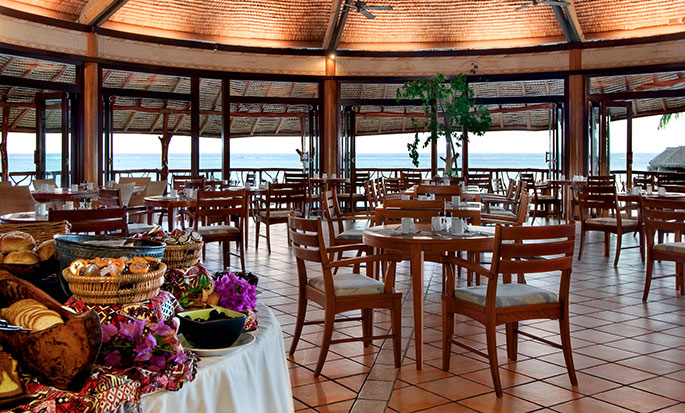 Hotel Hilton Moorea Lagoon Resort and Spa - Restaurante Arii Vahine