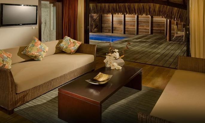 Hotel Hilton Moorea Lagoon Resort and Spa - Área de estar