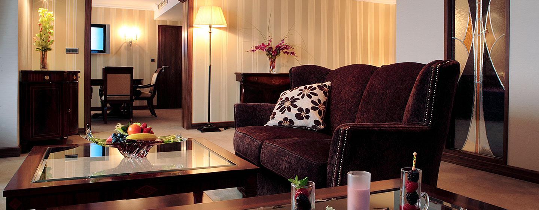 Hotel Hilton Prague, Repubblica Ceca - Suite Reale con letto king size
