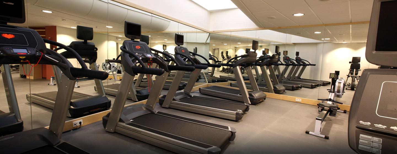 Das moderne Fitness Center des Luxushotels ist mit allen nötigen Geräten ausgestattet