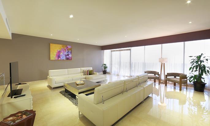 Hotel Waldorf Astoria Panamá, Panamá - Sala de estar de la suite