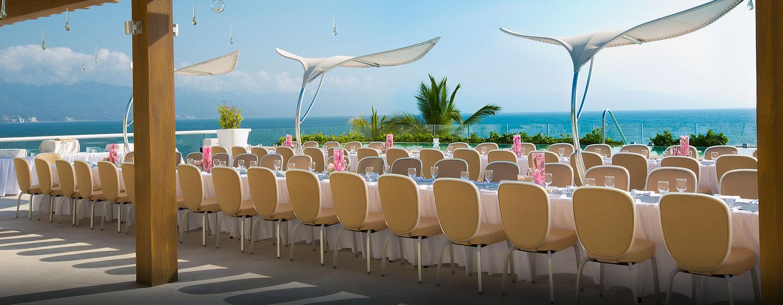 Hilton Puerto Vallarta Resort, Jalisco, México - Eventos al aire libre