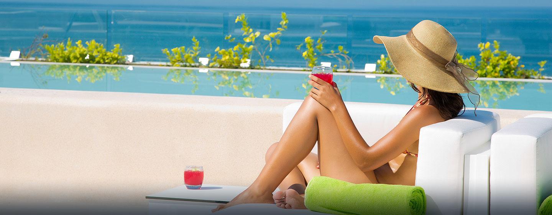Hilton Puerto Vallarta Resort, Jalisco, México - Rooftop Lounge