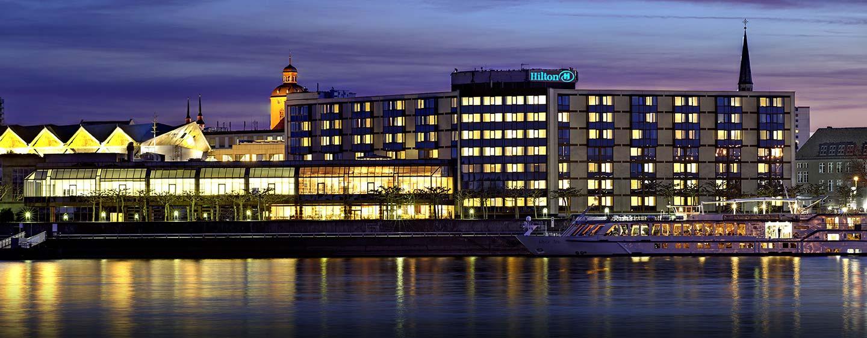 Wir begrüßen Sie herzlich im Hilton Mainz