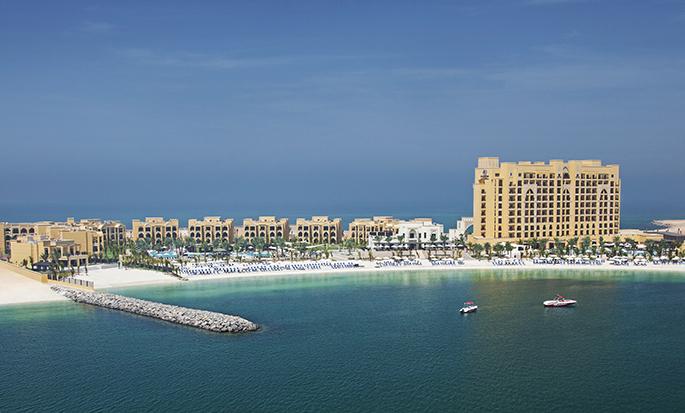 DoubleTree by Hilton Resort & Spa Marjan Island -hotelli, Yhdistyneet Arabiemiirikunnat – ilmakuva