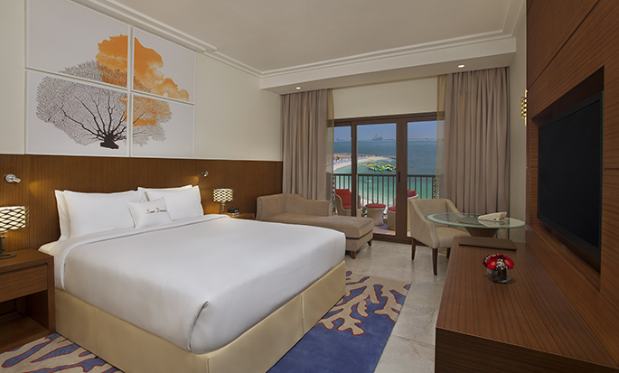 DoubleTree by Hilton Resort & Spa Marjan Island, Ras Al Khaimah, Förenade Arabemiraten – Rum King