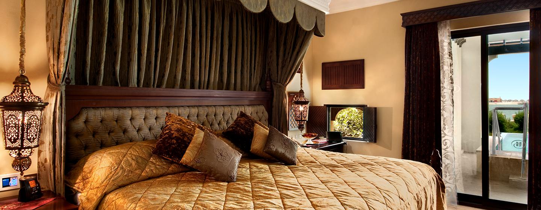 Die Royal Suite befindet sich in einer Strandvilla und bietet Ihnen viel Komfort