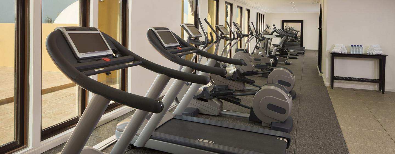 Im großen Fitness Center des Hotels stehen Ihnen viele Cardiogeräte zur Verfügung