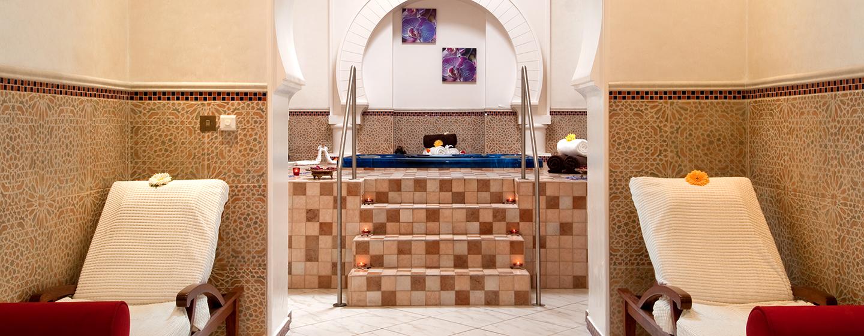 Im luxeriösen Spa des Resorts werden Sie mit modernen Behandlungen verwöhnt