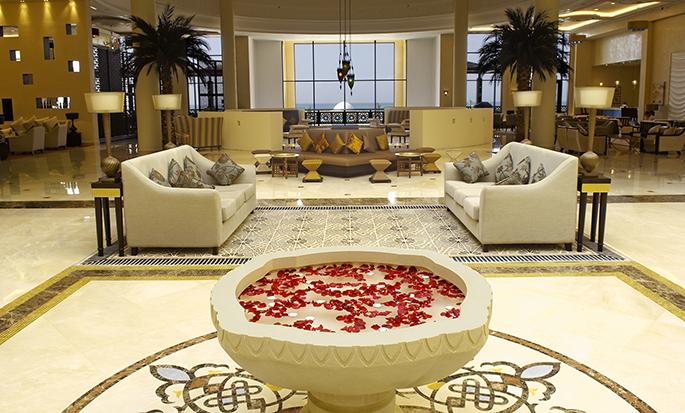 Hilton Ras Al Khaimah Resort & Spa hotel, UAE - Lobby