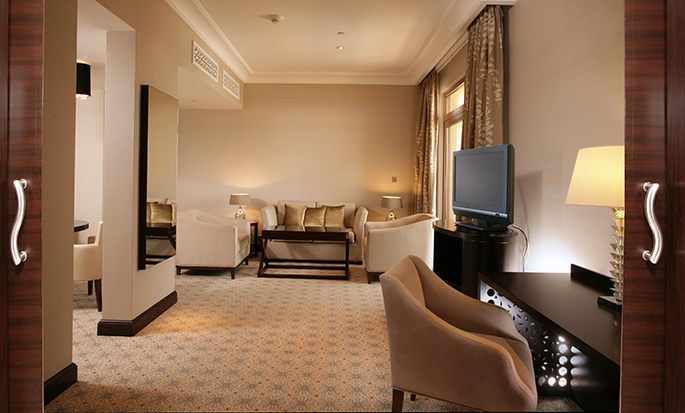 Hilton Ras Al Khaimah Resort & Spa hotel, UAE - King Executive Suite Bedroom