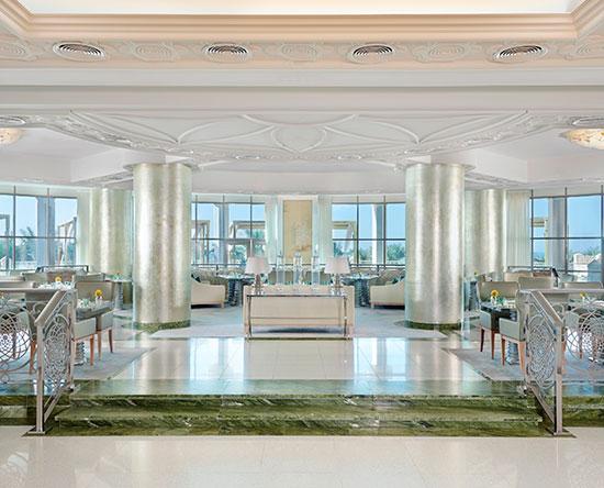 Waldorf Astoria Ras Al Khaimah -hotelli, Yhdistyneet arabiemiirikunnat - Qasr Al Bahar -ravintola