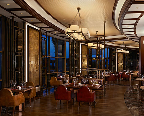 Waldorf Astoria Ras Al Khaimah hotell, Förenade Arabemiraten – Lexington Grill