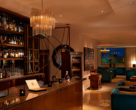 Waldorf Astoria Ras Al Khaimah hotell, Förenade Arabemiraten – Cigar Bar