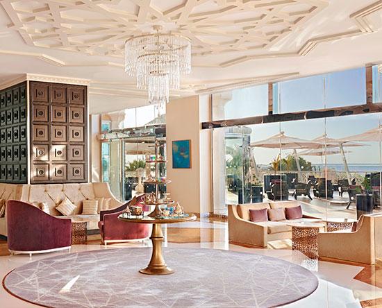 Waldorf Astoria Ras Al Khaimah -hotelli, Yhdistyneet arabiemiirikunnat - Camelia-teesalonki