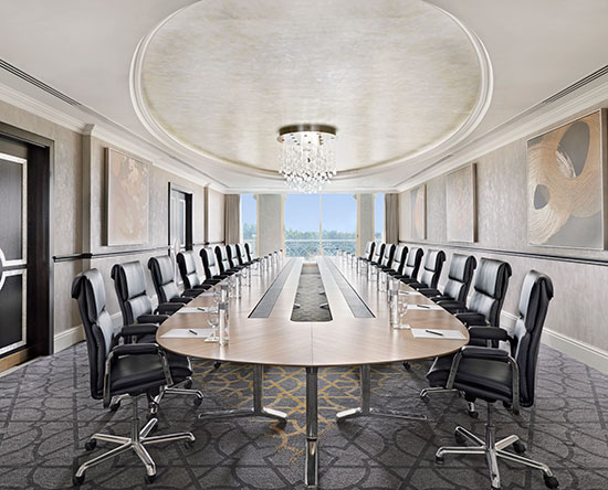 Waldorf Astoria Ras Al Khaimah -hotelli, Yhdistyneet arabiemiirikunnat – Luuli-kokoushuone