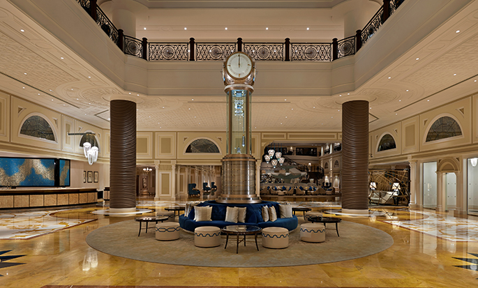 Waldorf Astoria Ras Al Khaimah -hotelli, Yhdistyneet arabiemiirikunnat - Aula