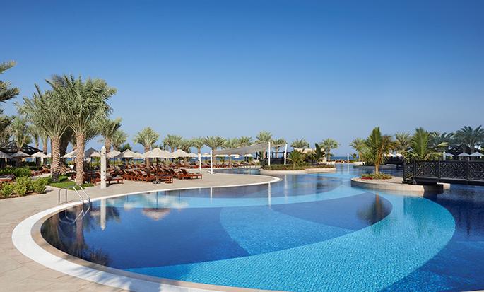 Waldorf Astoria Ras Al Khaimah hotell, Förenade Arabemiraten – Simbassäng