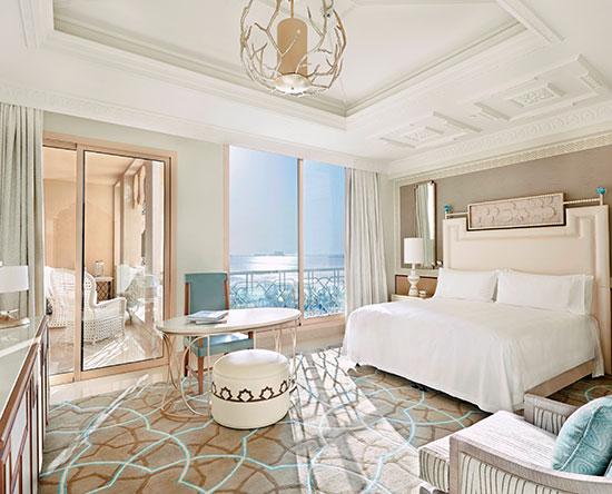 Waldorf Astoria Ras Al Khaimah -hotelli, Yhdistyneet arabiemiirikunnat – King Classic -huone