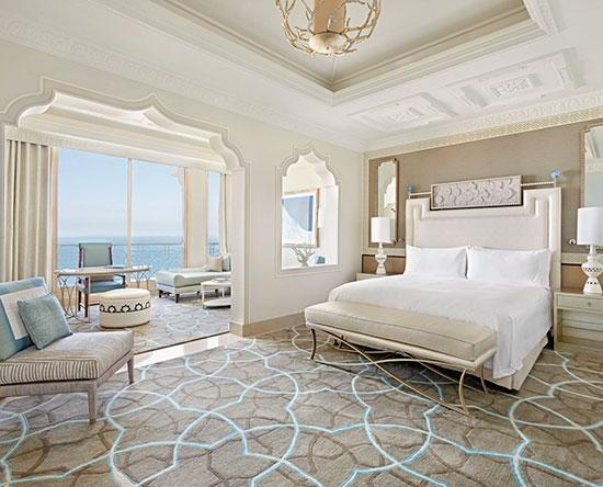 Waldorf Astoria Ras Al Khaimah hotell, Förenade Arabemiraten – Juniorsvit King med havsutsikt