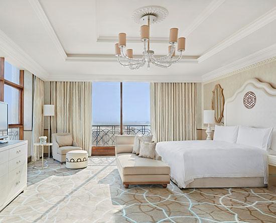 Waldorf Astoria Ras Al Khaimah -hotelli, Yhdistyneet arabiemiirikunnat – parivuoteellinen tornisviitti