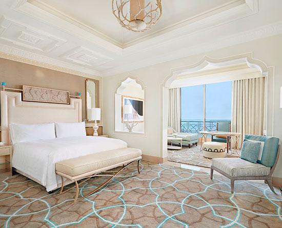 Waldorf Astoria Ras Al Khaimah -hotelli, Yhdistyneet arabiemiirikunnat – liikuntarajoitteisille soveltuva Classic-huone