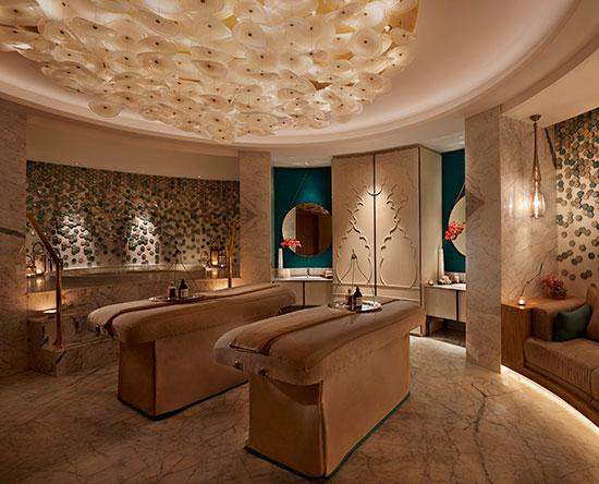 Waldorf Astoria Ras Al Khaimah -hotelli, Yhdistyneet arabiemiirikunnat - Kylpylässä talon omat hoidot