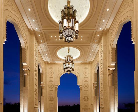 Waldorf Astoria Ras Al Khaimah -hotelli, Yhdistyneet arabiemiirikunnat - Tyylikkäät puitteet hääjuhlille