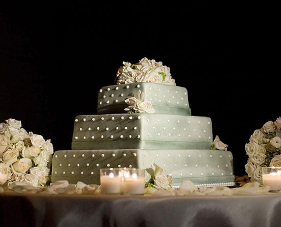 Waldorf Astoria Ras Al Khaimah hotell, Förenade Arabemiraten – Bröllopstårta