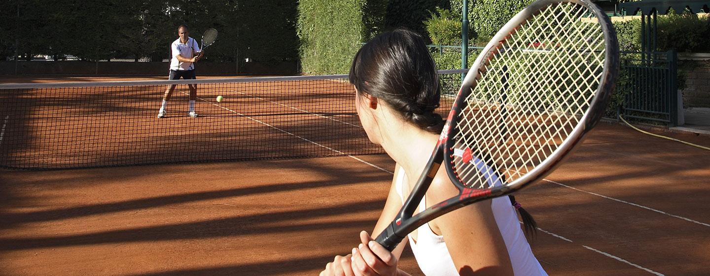 Hôtel Rome Cavalieri, Waldorf Astoria, Italie - Court de tennis