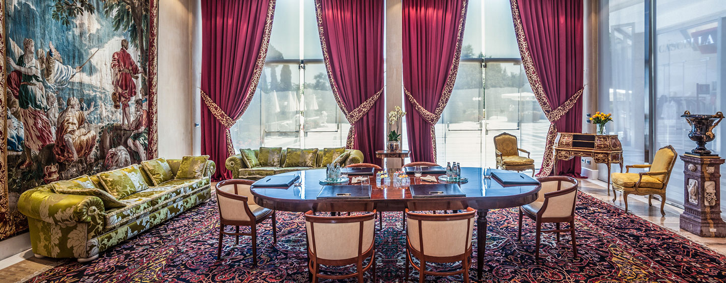 Rome Cavalieri, Waldorf Astoria Hotels & Resorts, Italian - Kleine Meetings
