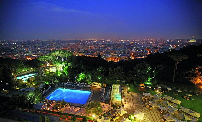 Rome Cavalieri, Waldorf Astoria Hotels & Resorts - Esterno dell'hotel