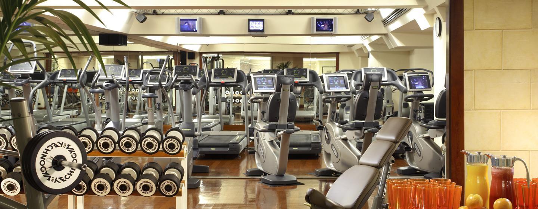 Halten Sie sich im gut ausgestatteten Fitness Center in Form