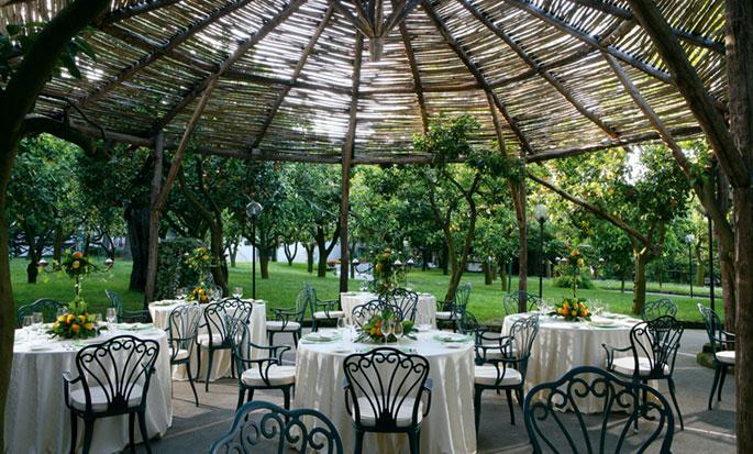 Hôtel Hilton Sorrento Palace, Italie - Jardin L'Agrumeto