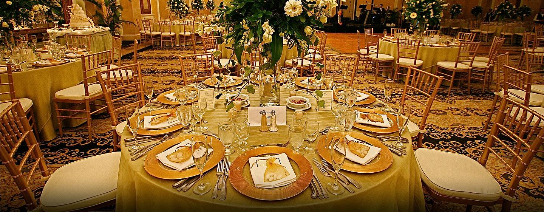 Hotel Hilton Princess San Salvador, El Salvador - Montaje para boda