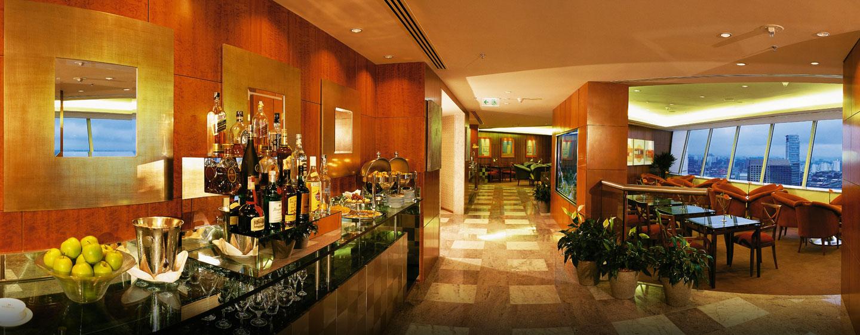 Hotel Hilton Sao Paulo Morumbi, Brasil - Sala de estar ejecutiva