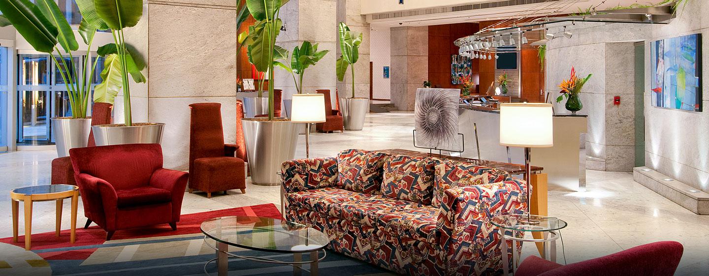 Hilton Sao Paulo Morumbi Hotel, Brasilien – Lobby