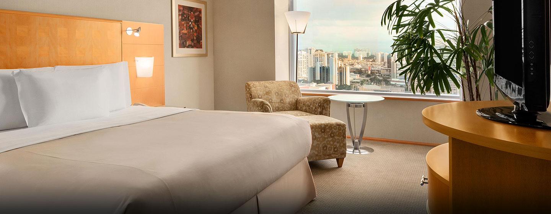 Hilton Sao Paulo Morumbi Hotel, Brasilien – Deluxe Zimmer mit King-Size-Bett