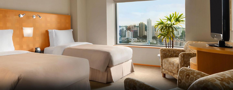 Hotel Hilton Sao Paulo Morumbi, Brasil - Habitación Deluxe con camas gemelas