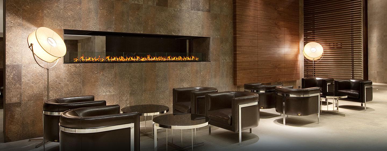 Hilton Garden Inn Santiago Airport, Chile - Sala de estar del lobby