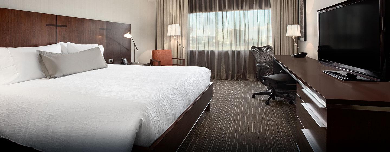 Hilton Garden Inn Santiago Airport, Chile - Habitación con cama King