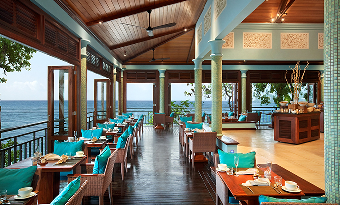 Hôtel Hilton Seychelles Northolme Resort and Spa - Restaurant Hiltontop